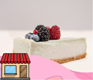Brazo de reina, Cheesecake, tartaleta y otros pasteles.