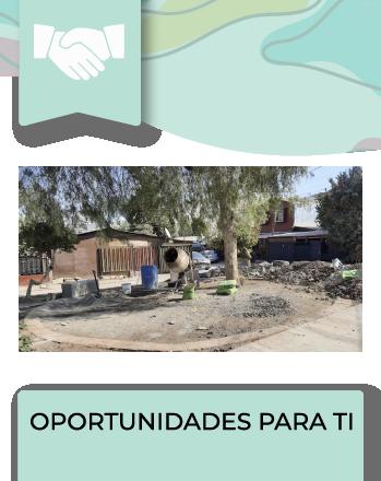 Programa destinado a Organizaciones Comunitarias y Juntas de Vecinos, residentes en áreas o localidades urbanas de más de 5.000 habitantes.