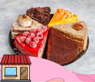Pasteles, tortas, queques y sopaipillas.