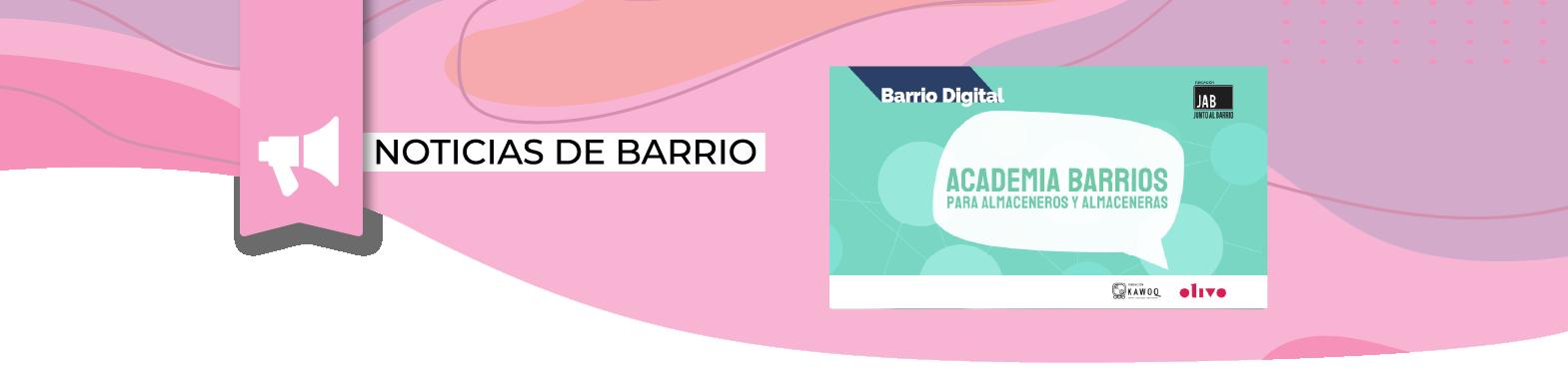 Academia de Barrios para Almaceneros/as