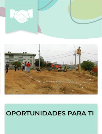 El Programa tiene como objetivo la pavimentación o repavimentación de la vereda, pasaje o calle sin pavimentos o cuyos pavimentos presentan un alto deterioro.