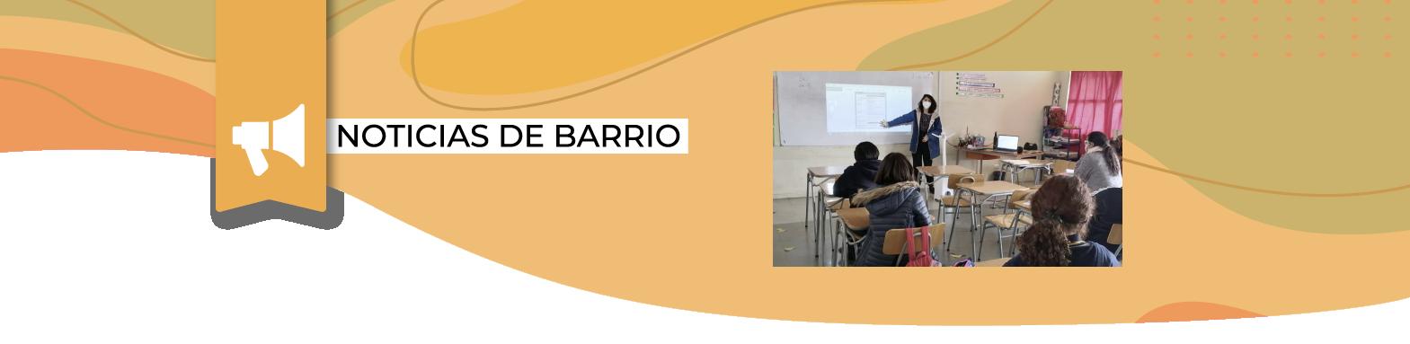 JAB se reúne con estudiantes del Liceo Nuevo Amanecer