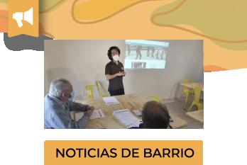 Junto Al Barrio realizó una capacitación para el Centro de Adulto Mayor