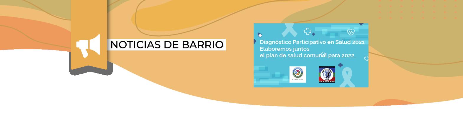 Súmate al Diagnóstico Participativo en Salud 2021