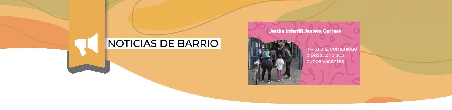 Directora del Jardín infantil Javiera Carrera de Villa Nuevo Amanecer anuncia cupos disponibles